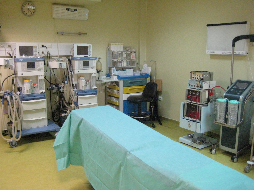 Surgery room Cosmedica Clinic