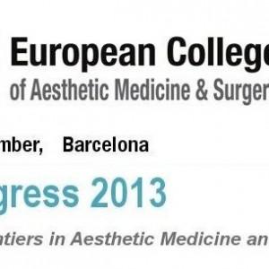Impresii dupa Congresul European College of Aesthetic Medicine and Surgery, Barcelona 2013