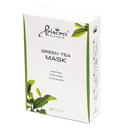 Green Tea masca ten cu ceai verde Princess Skincare