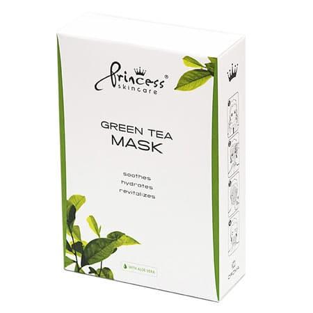 Green Tea masca ten cu ceai verde Princess Skincare