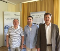 (Dr. C.Chertif)- dreapta alaturi de Dr. Ueberreiter stanga si Dr. Yves Surlemont (mijloc)