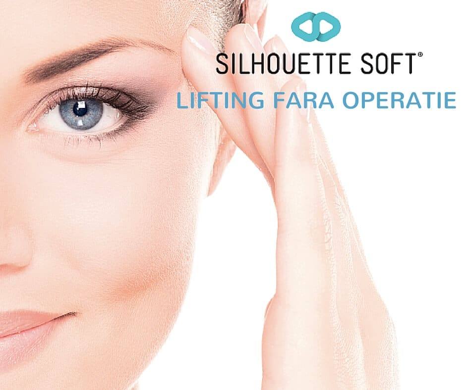 lifting facial nechirurgical cu fire de suspensie