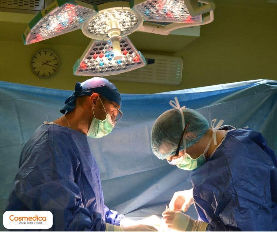 Operatie estetica clinica cosmedica