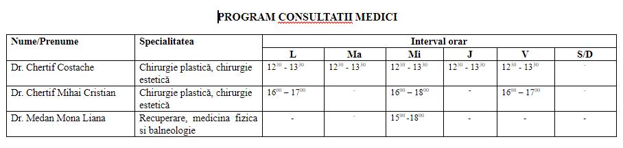 program-consultatii