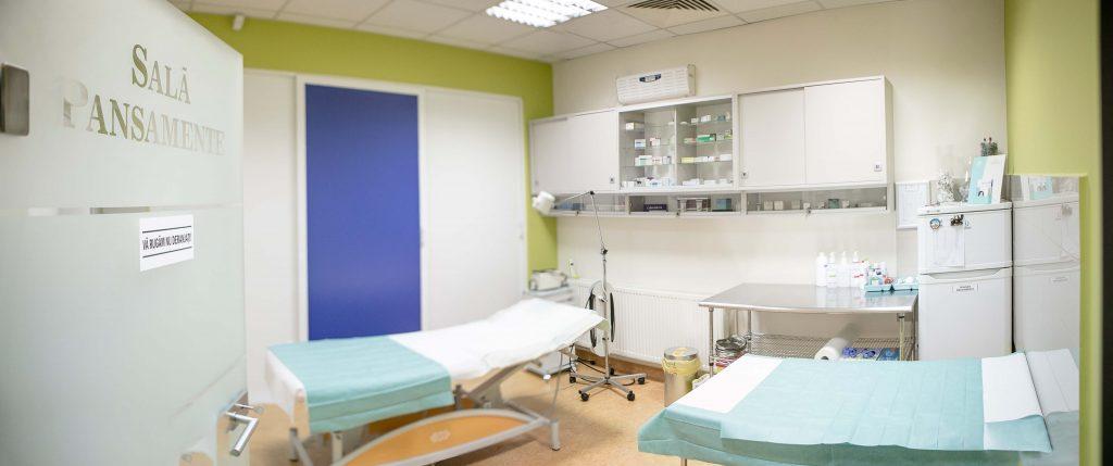 sala de pansamente clinica cosmedica