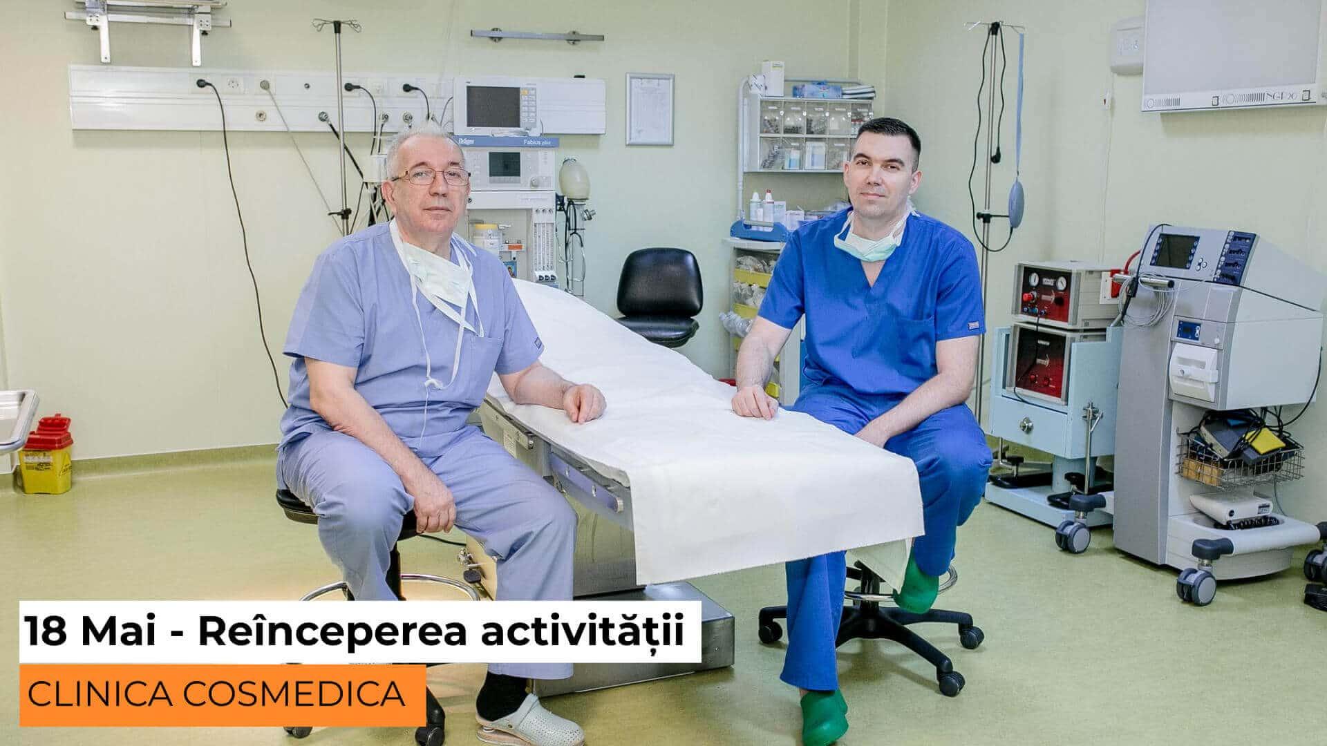 reincepere activitate cosmedica